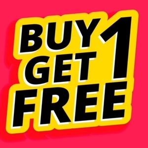 - BUY ONE GET ONE FREE SALE !!
